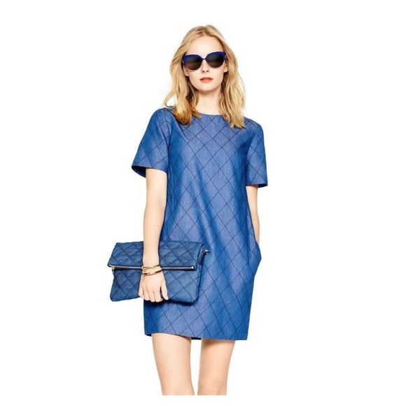 kate spade Dresses & Skirts - Kate Spade Quilted Chambray Shift Dress
